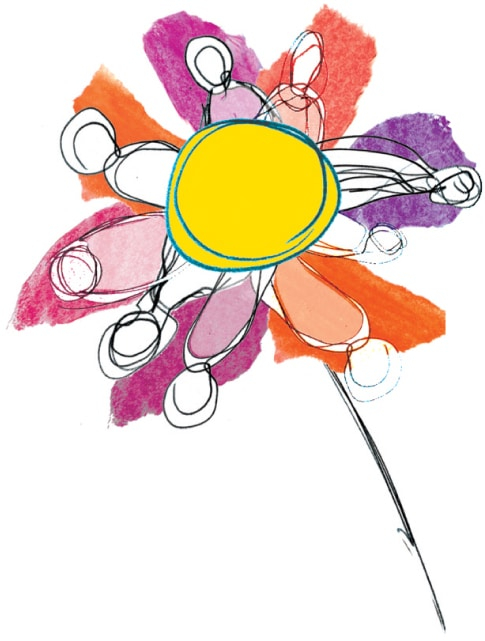 fleur regroupement aidantes et aidants naturels