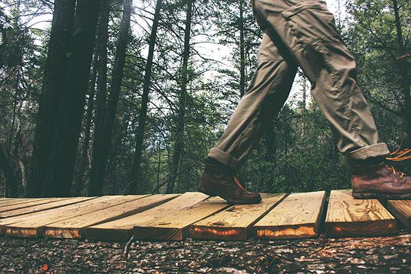 marche en nature
